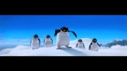 کلیپ انیمیشن | آواز خواندن پنگوئن های انیمیشن خوش قدم