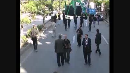 هیئت منتظران ظهور  روستای كندر در امامزاده حسین  قزوین