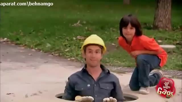 دوربین مخفی خنده دار چاه وحشتناک در پارک