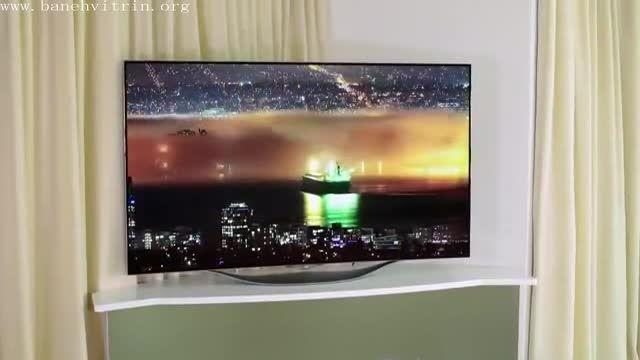 تلویزیون ال ای دی سه بعدی منحنی اسمارت ال جی  55ec930t
