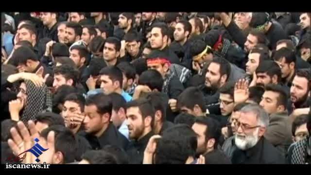 اولین شب عزاداری ایام محرم ۱۴۳۷ در حسینیه امام خمینی