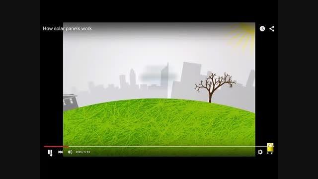 آشنایی با انرژی خورشیدی - صفحات خورشیدی