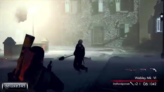 گیم پلی بازی Sniper Elite: Nazi Zombie Army