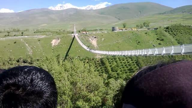 افتتاح پل معلق مشکین شهر، بزرگترین پل معلق خاورمیانه 3