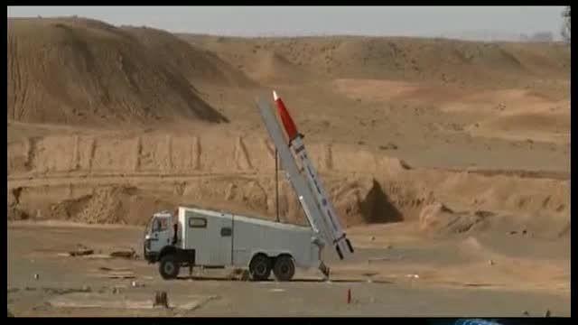 تست موشک ضدرادار هرمز-1
