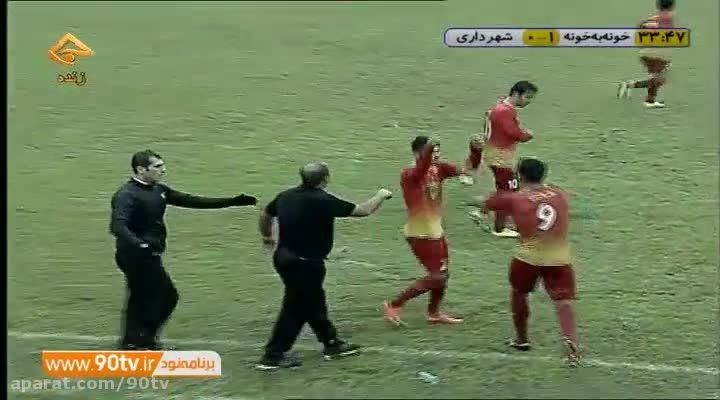 خلاصه بازی: خونه به خونه 2-0 شهرداری اردبیل