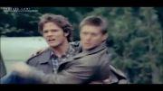 پشت صحنه و حرکت های جالب و خنده دار سم و دین در سوپرنچرال