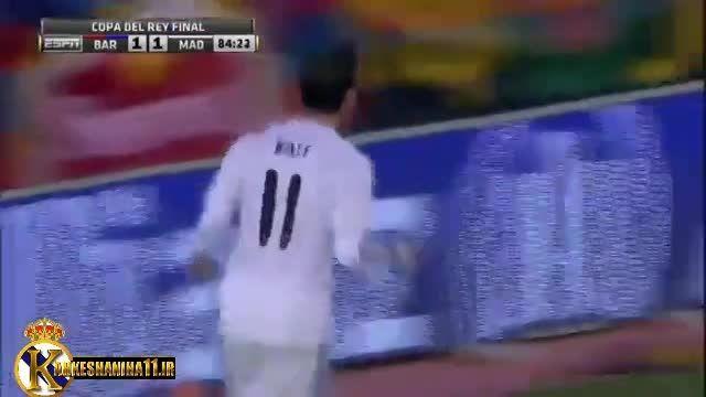 گذشت یک سال از بهترین گل گرت بیل برای رئال مادرید