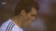 کلیپ حرکات گرت بیل در بازی با بارسلونا فینال جام حذفی