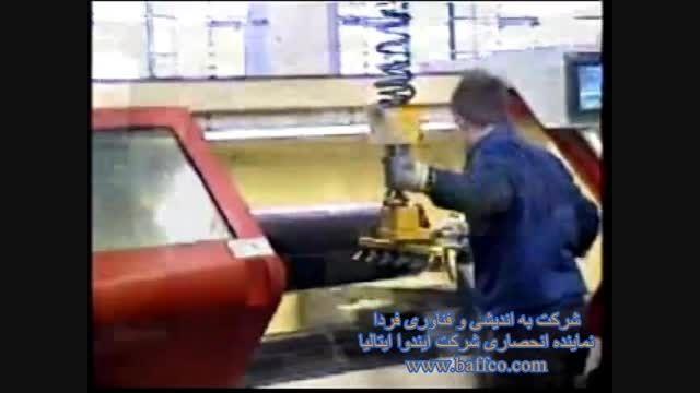 گذاشت و برداشت قطعات در ماشین CNC