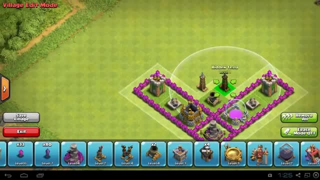 base town hall **7** clash of clans