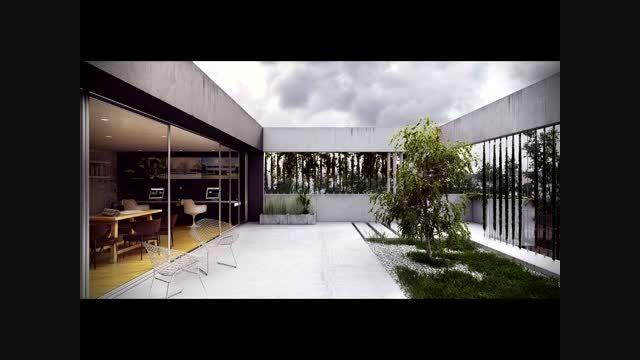 تصاویر طراحی فضای سبز، باغ و مبلمان بیرونی