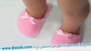 آموزش ساخت دمپایی خانگی برای عروسک