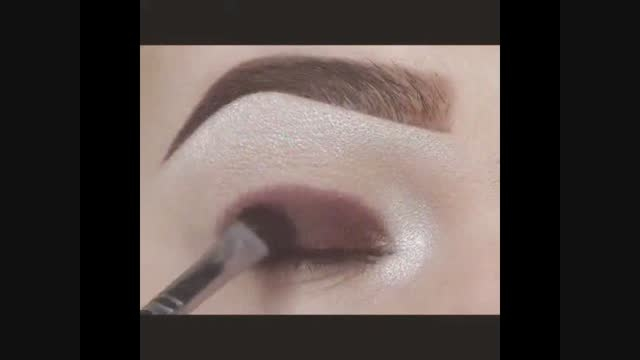 آموزش سریع آرایش کردن دور چشم (7)