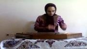 سنتور نوازی زیبای این خانم  (قطعه فریبا) اثر استاد پایو