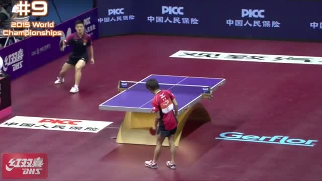 DHS Top 10 - 2015 World Table Tennis Championships
