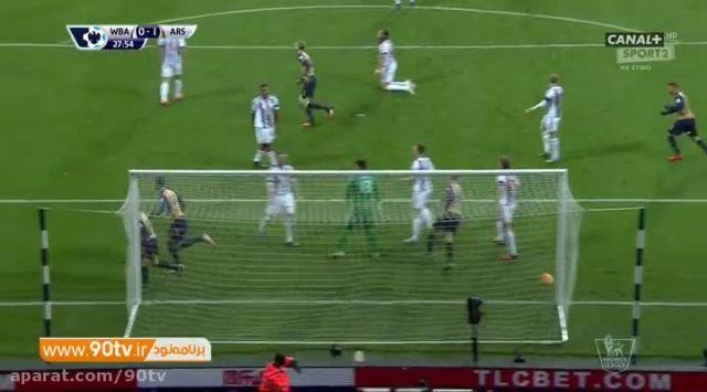 خلاصه بازی: وست برومویچ ۲-۱ آرسنال