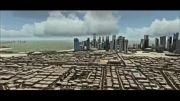 شهر و فرودگاه دوحه قطر برای شبیه ساز پرواز