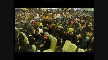 عباس رضا زاده تقلید صدا عضو گلوبال مجری درجشن ملی سوهان