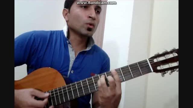 آهنگ غمگین هنوزم کنج اتاقم می شینم........  Guitar
