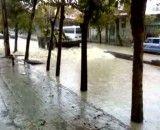 لودر قهدریجان در روز بارونی