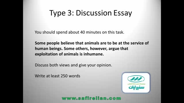 12 Type 3 of IELTS writing task two