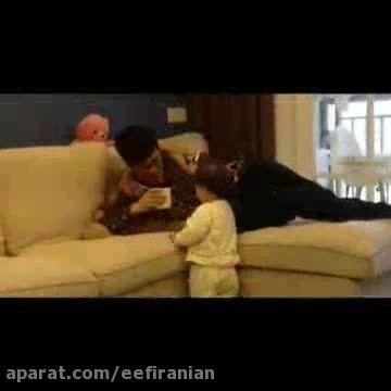 بابایی یه کم آب بخور : تا آخر ببینید!!!!!
