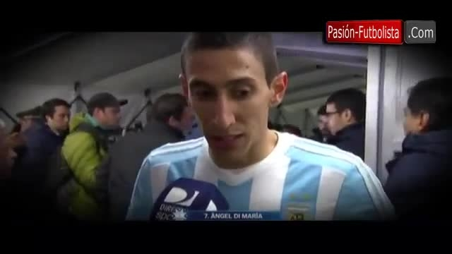 مصاحبه دیماریا پس از بازی مقابل پاراگوئه(کوپا آمریکا)