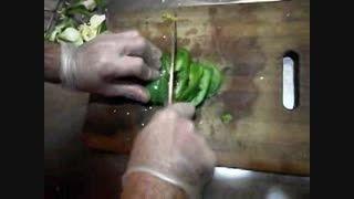 طرز تهیه پیتزا فاهیتای مکزیکی پیتزا آرد