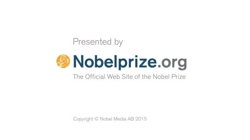مراسم اعلام برندگان جایزه نوبل شیمی 2015