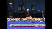 سخنان ریاست محترم جمهوری در جمع پرشور مردم زنجان(کامل)