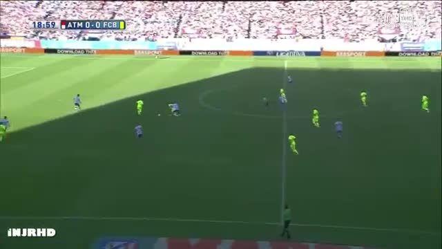 هایلایت کامل بازی لیونل مسی مقابل اتلتیکو مادرید