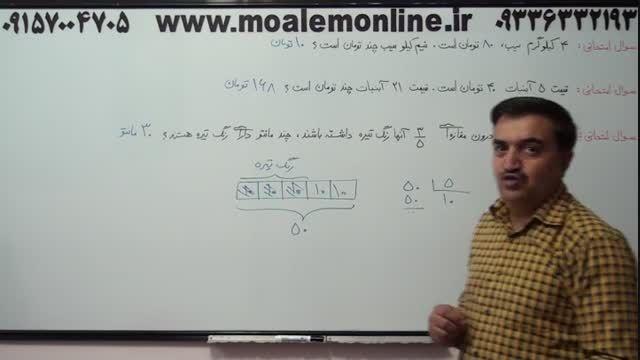 ریاضی چهارم ابتدایی و راز جادویی مسائل آن