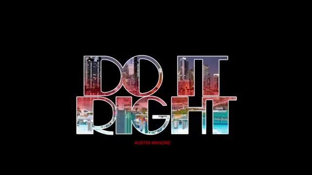 سینگل جدید استین ماهون Do It Right -
