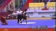 لحظات دیدنی مبارزه سانشو ووشو - فوق العاده جذاب