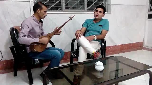 اجرای زنده آهنگ حوض نقره ای از محسن مقیاسی با دوتار