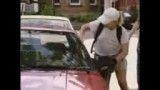 دوربین مخفی دزد ماشین