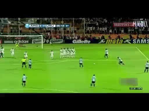 10 گل برتر مسی برای آرژانتین
