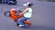 موتور سواری بچه 3 ساله#_#