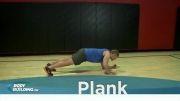 شکم شش تکه - تمرین تخت ( پلنک )