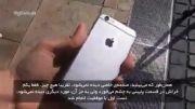 تست بدنه iphone ۶ plus و iPhone با زیر نویس