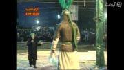 تعزیه -دانیال در نقش حضرت سکینه (س) شهادت علی اکبر(ع)