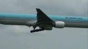 وحشتناک ترین فرود هواپیما در کره شمالی
