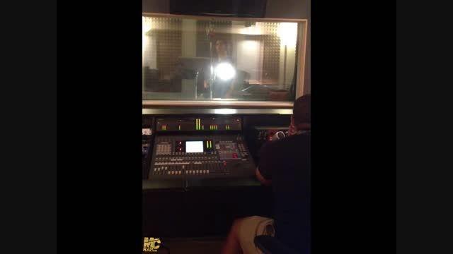 """""""یاس"""" در حال ضبط آهنگ """"آمین"""""""