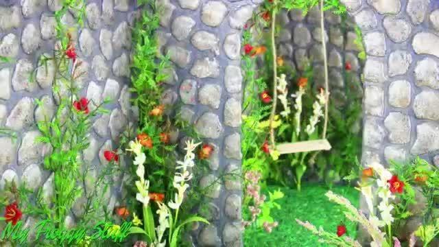 آموزش درست کردن باغ جادویی برای باربی