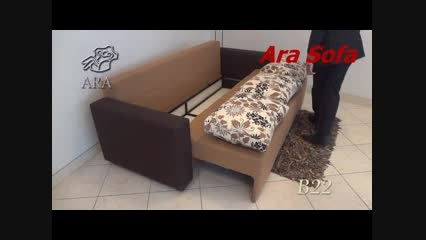 مبل آرا کاناپه تخت خواب شو مدل B22