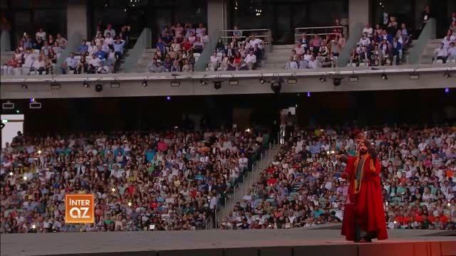 افتتاحیه اولین بازیهای المبیک اوروبا/ باکو