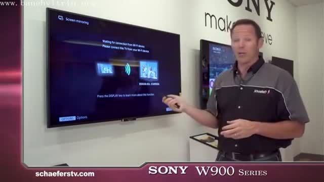 تلویزیون ال ای دی سه بعدی سونی LED TV 3D SON W900