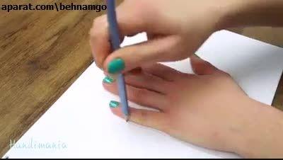 چگونه نقاشی سه بعدی بکشید