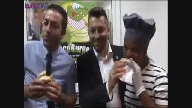 همبرگر گوشت گورخر یا درازگوش الاغ+فیلم کلیپ گلچین صفاسا